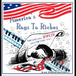 XtraSolar, Michael - America's Rags To Riches-Michael Plays Joplin Play CD Cover Art