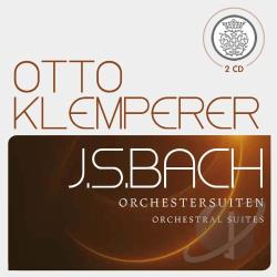 Bach / Klemperer - Bach: Orchestral Suites CD Cover Art