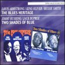 Armstrong, Louis - Blues Heritage/Two Shades Of Blue CD Cover Art