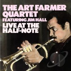 Farmer, Art - Live at the Half Note CD Cover Art
