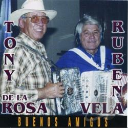 Vela, Ruben - Buenos Amigos CD Cover Art