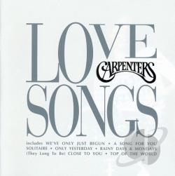 Carpenters - Love Songs CD Cover Art