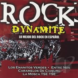 Rock Dynamite: Lo Mejor Del Rock En Espanol CD Cover Art
