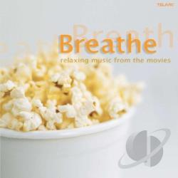 Breathe: The Relaxing Harp CD Cover Art