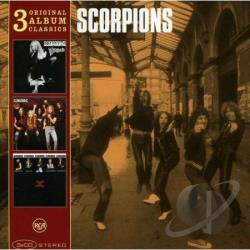 Scorpions - 3 Original Album Classics CD Cover Art