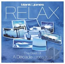 Blank & Jones - Relax: The Best of a Decade 2003-2013 CD Cover Art
