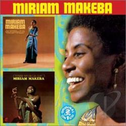 Makeba, Miriam - Miriam Makeba/The World of Miriam Makeba CD Cover Art