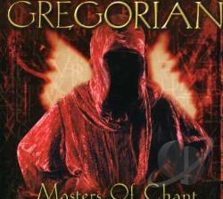 Gregorian Chants - Masters Of Chant CD Cover Art