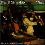 Newman, David - Fire! Live At the Village Vanguard DB Cover Art