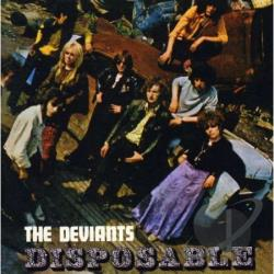 Deviants - Disposable CD Cover Art