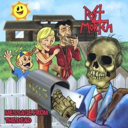 Post Mortem - Message From The Dead CD Cover Art
