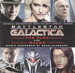 Mccreary, Bear - Battlestar Galactica: The Plan / Razor CD Cover Art