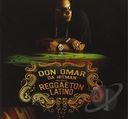 Omar, Don - Da Hit Man Presents Reggaeton Latino CD Cover Art