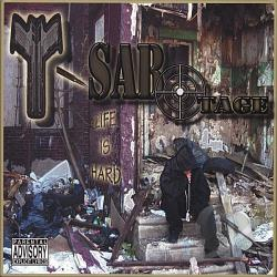T-Sabotage - Life Is Hard CD Cover Art