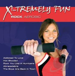 X-Tremely Fun: Rock Aerobic CD Cover Art