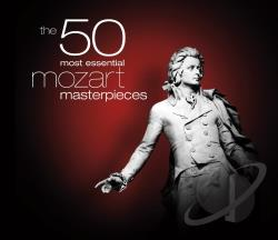 London Philharmonic Orch. / Mawe / Mozart - 50 Most Essential Mozart Masterpieces CD Cover Art