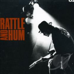 U2 - Rattle and Hum CD Cover Art