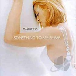 Madonna - Something to Remember CD Cover Art