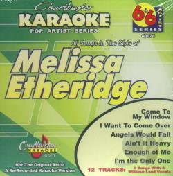 Etheridge, Melissa - Karaoke: Melissa Etheridge CD Cover Art