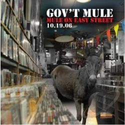 Gov't Mule - Mule On Easy Street CD Cover Art