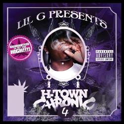 Lil C - H - Town Chronic, Vol. 4 CD Cover Art