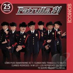 Patrulla 81 - Iconos: 25 Exitos CD Cover Art