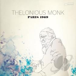 Monk, Thelonious - Paris 1969 CD Cover Art