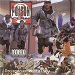 Poison Clan - Poisonous Mentality CD Cover Art