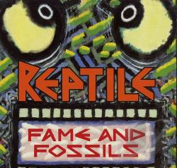 Reptile - Fame & Fossils CD Cover Art