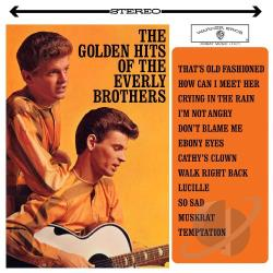 Everly Brothers - Golden Hits of the Everly Brothers LP Cover Art