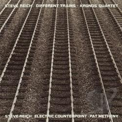 Reich, Steve - Steve Reich: Electric Counterpoint; Different Trains CD Cover Art