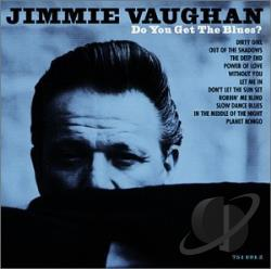 Vaughan, Jimmie - Do You Get the Blues? CD Cover Art