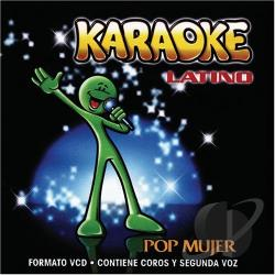 Karaoke Latino: Pop Mujer CD Cover Art