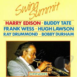 Edison, Harry Sweets - Swing Summit CD Cover Art