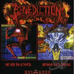 Benediction - Grind Bastard/Organized Chaos CD Cover Art