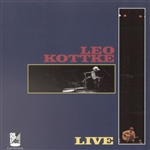 Kottke, Leo - Leo Live CD Cover Art
