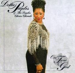 Peoples, Dottie - Live Featuring On Time God CD Cover Art