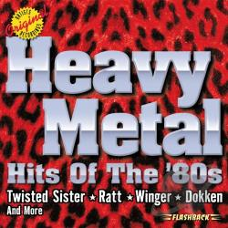 Heavy Metal: Hits Of The 80S CD Cover Art