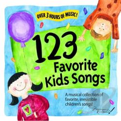 123 Favorite Kids Songs 1 CD Cover Art