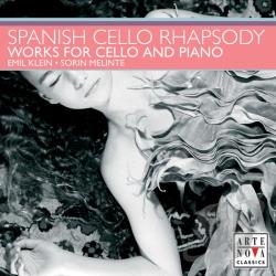 Klein: vc / Melinte  pno - Spanish Cello Rhapsody CD Cover Art