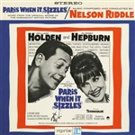 Riddle, Nelson & His Orchestra - Paris When It Sizzles DB Cover Art