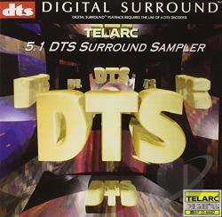 Telarc DTS 5.1 Surround Sampler DTSCD Cover Art
