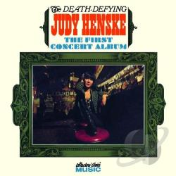 Henske, Judy - Death Defying Judy Henske: The First Concert Album CD Cover Art