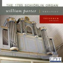 Bach / Bohm / Porter / Walther - 1785 Schiorlin Organ, Tryserum Sweden CD Cover Art