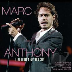 Anthony, Marc - Live from New York City CD Cover Art