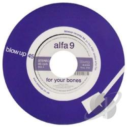 Alfa 9 - For Your Bones 7 Cover Art