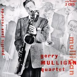Mulligan, Gerry - Original Quartet with Chet Baker CD Cover Art