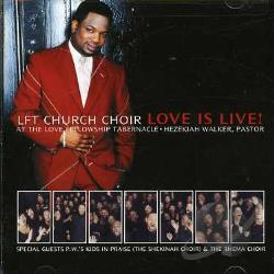 Pastor Hezekiah Walker - Love Is Live! CD Cover Art