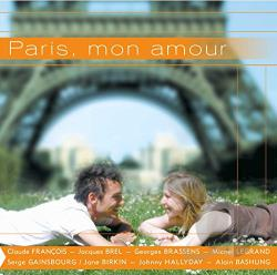 Paris Mon Amour CD Cover Art