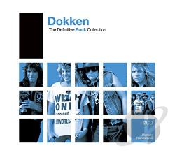 Dokken - Definitive Rock CD Cover Art
